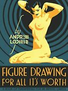 Figure Drawing For All It's Worth By Loomis, Andrew Hardcover