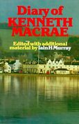 Diary Of Kenneth Macrae By Iain H. Murray Hardcover