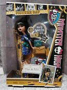 Monster High 💙 Doll Cleo De Nile New In Box Picture Day