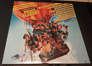 Bubba Smith, Marion Ramsey, Leslie Easterbrook Police Academy 4 Signed In Person