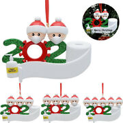 2020 Xmas Christmas Hanging Ornaments Family Personalized Resin Ornament