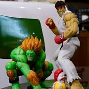 Ronenglish Street Fighter Two Figures In Set Action Figure Hot Toy New In Stock