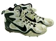 Reggie White Green Bay Packers Game Worn Cleats From 1997 Vs. Panthers 143666