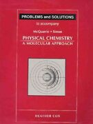 Problems And Solutions To Accompany Mcquarrie - Simon Physical Chemistry A Mo...