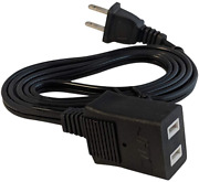 Jump Starters Charging Cable Two-pronged Extension Cord 120v Plugs Wall Outlet