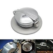 Silver Motorcycle Aluminum Oil Gas Fuel Tank Filler Caps For Bmw R Nine T R9t