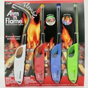 Scripto Flexible Multi-purpose Lighter Aim In Flame 4 Individually Packaged.