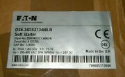 New Eaton Ds6-34dsx134n0-n Soft Starter Controller Ds6 Series 124a - Sealed Box