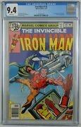 Iron Man 118 Cgc 9.4 1st Appearance Of James Rhodes Rhodey - White Pages
