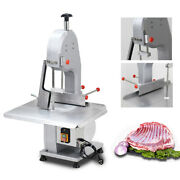Electric Frozen Meat Bone Sawing Machine 1500w Commercial Bone Saw Band Cutter