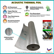 Aluminium Foam Foil   Reflective And Roofing Insulation   Atf2fr   10m L