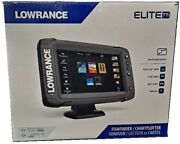 Lowrance Elite-7ti Gps Chirp Touchscreen Totalscan Transducer + Cmap Insight Pro