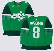 Alex Ovechkin Autographed Capitals Authentic St. Patricks Day Jersey Fanatics