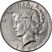 1923-s Peace Dollar Great Deals From The Executive Coin Company