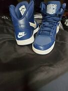 Jordan Ones Force .....mint..rare.bran.beautiful..in Store Try On..blue/white