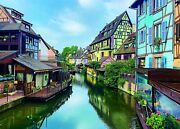 Jigsaw Puzzles 1000 Pieces For Adults Difficult Hard Colmar Town