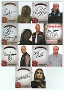 Sons Of Anarchy Seasons 4 And 5 Near Complete Master Set - Hunnam Sagal Perlman
