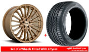 Alloy Wheels And Tyres 20 Niche Premio For Cadillac Ct6 16-20