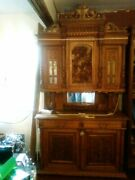 Antique French Hand Carved Buffet