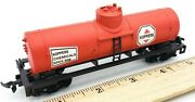 Ho Scale Model Train Life-like Koppers Chemicals K.p.c.x 508 Red Tank Dome Car