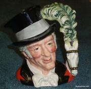 Royal Doulton The Ring Master Character Toby Jug D6863 Great Collectible Gift