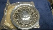 One 1977 1978 1979 1980 Gm Wire Spoke 15 Hubcap Nos / New