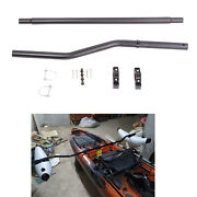 Canoe Kayak Inflatable Stabilizing Outrigger Arms Pole D-ring With Hardware
