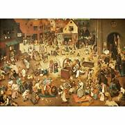 Jmbeauuuty 2000 Pieces Jigsaw Puzzles For Adults The Battle Between Carnival...