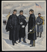 Victorian Trade Card 1880s J And P Coats Six Cord Thread Cotton Army Vtc-c197