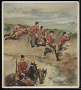 Victorian Trade Card 1880s J And P Coats Six Cord Thread Mounted Infantry Vtc-c188