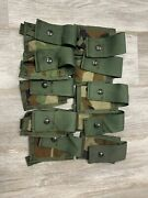 Lot Of 10 Specialty Defense Woodland 40mm High Explosive He Single Pouch Molle