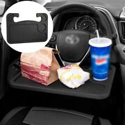 Auto Steering Wheel Desk, Portable Serving Trays, Car Travel Work Table