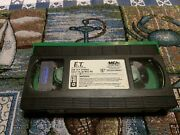 E.t. The Extra-terrestrial Vhs Green Edition Very Collectible Original Release