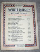 1919 March Of Victory Vintage Sheet Music Piano Solo By Francis Carroll