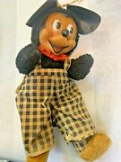 1940andrsquos Mickey Mouse Plush
