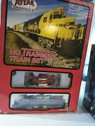 Atlas Ho Trainman Set Norfolk Southern Mixed Freight Set With Gp38-2 Locomotive