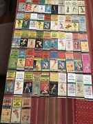 Lot Of 53 Vintage Pin-up Girlies Matchbook Covers. Most With Four Digits Phone