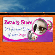 Vinyl Banner Sign Beauty Store Professional Care Of Image Marketing Advertising