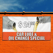 Vinyl Banner Sign 24 99 Car Lube And Oil Change Special Marketing Advertising