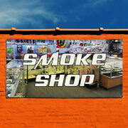Vinyl Banner Sign Smoke Shop 1 Style H Business Marketing Advertising White