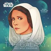 Star Wars Women Of The Galaxy 2021 Wall Calendar Book The Fast Free Shipping