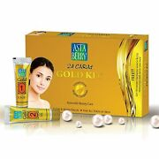 Astaberry 24 Cart Gold Facial Kit Glow And Shine For All Skin Type