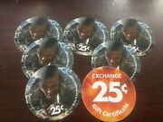 1 Aafes Pog 25c 16g25 From 2017 Mint New. Mpcs Free Shipping Rare No Date