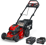 Snapper Xd 82v Max Step Sense Cordless Electric 19-inch Lawn Mower Kit With 2