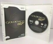 James Bond 007 Goldeneye For Nintendo Wii Complete With Instructions