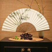 Hand Painted Japanese Style Paper Fan Classical Gift And Portable Summer Accessory