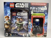 Funko Pop Lego Star Wars Iii Play And Collect Nintendo Wii Game With Jango Fett
