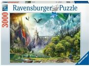 Ravensburger Reign Of Dragons 3000 Piece Puzzle - New - Free Shipping