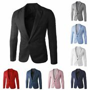 Solid Color Male Wedding Suit For Men Business Casual Blazer Suits Groomsman