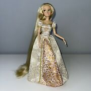 Disney Rapunzel Exclusive Tangled Ever After Wedding Doll Blonde Deluxe Dress